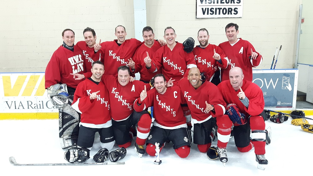 Legends Centre Adult Hockey League LCAHL - City